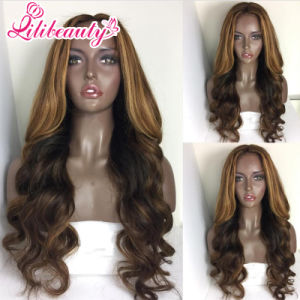 Brazilian Front Lace No Synthetic Wig pictures & photos