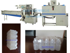 Wide Film Automatic Collective Bottles Shrink Wrapping Machine pictures & photos