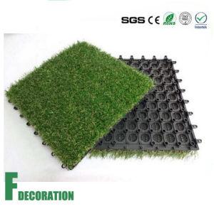 Outdoor Interlocking Artificial Grass pictures & photos