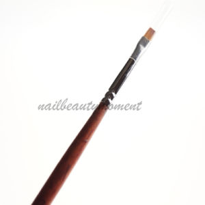 Nail Art Kolinsky UV Gel Builder Wooden Brush Products (B031) pictures & photos
