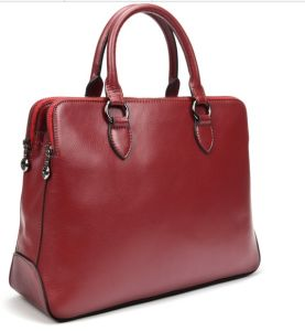 Wholesale Fashion Ladies Leather Handbag (H80446) pictures & photos