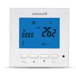 2-Pipe Programmable Digital Fan Coil Thermostat (S400) pictures & photos