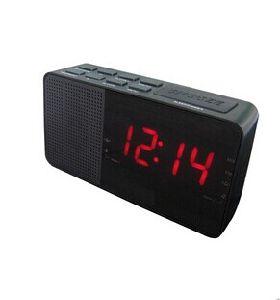 1.4 Inch Pll Am/FM LED Alarm Clock Radio Receiver