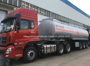 Heavy Duty 50000 Litres Fuel Tanker Trailer 3 Axles Steel Oil Tanker pictures & photos