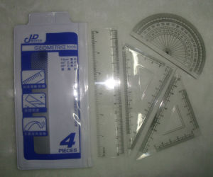 15cm Plastic Ruler School Student Office Ruler in Set pictures & photos