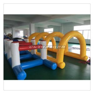 New Popular Inflatable Sport Games H Shaped Inflatable Hurdles