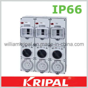 Combination Switch Socket with Fuse Protection pictures & photos