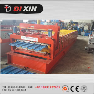 Double Deck Roof Panel Roll Forming Machine pictures & photos