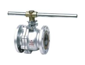 High Temperature, High Pressure Metal-Seated Ball Valve pictures & photos