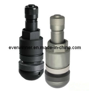Black and Titanium Grey Metal Valves TPMS Valve Stem pictures & photos