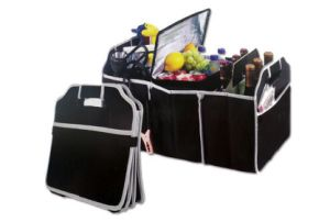 New Black Foldable Car Trunk Organizer Box Boot Storage Bag Toolbox pictures & photos