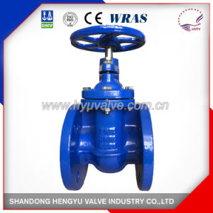 Non-Rising Gate Valve with Bare Shaft with Blue Color pictures & photos