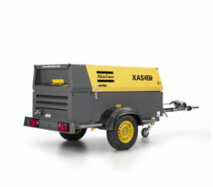 Diesel Portable Air Compressor Atlas Copco pictures & photos