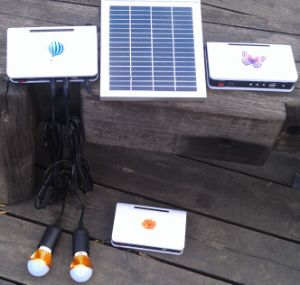 2PCS 2W Solar LED Light Lighting Kits System for Home Rooms pictures & photos