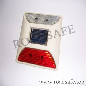 Solar Plastic LED Reflective Road Stud pictures & photos