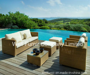 Patio Furniture Sofa Set Rattan/Wicker Outdoor Furniture pictures & photos