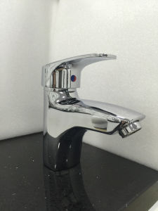 Sanitary Ware Chrome Plated Bathroom Faucet (1280) pictures & photos