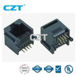 UL Approved PCB Jack Connector (YH-55-06)