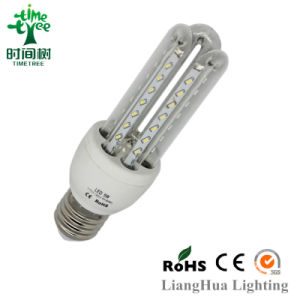 LED Corn Lamp New Products High Effciency 3u 7W Warmehite LED Corn Lamp with CE / RoHS Certificates pictures & photos