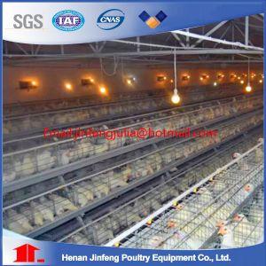 128birds 4tier 4 Cells Hot Galvanized Chicken Coop pictures & photos