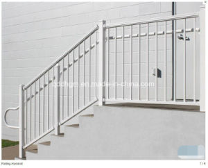 Beatiful Style Wrought Iron Stair Railing/Metal Handrail with Railing pictures & photos