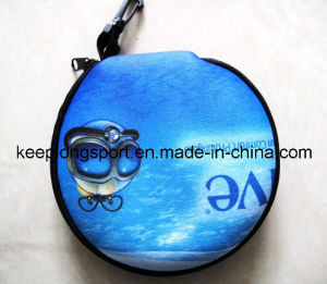 Insulated 3mm Neoprene CD Case with Full Colors Printing