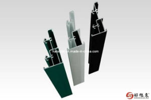 Color Powder Coating Aluminum Doors and Windows Profiles