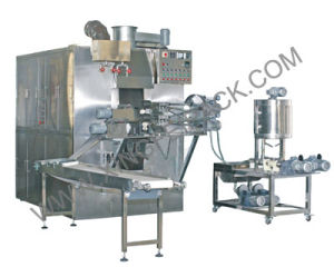 Multifunctional Automatic Cream-Filled Egg Roll Wafer Machine pictures & photos