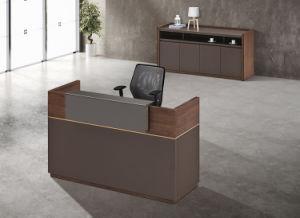 Melamine Office Furniture Reception Counter Desk Table Modern Reception  Table