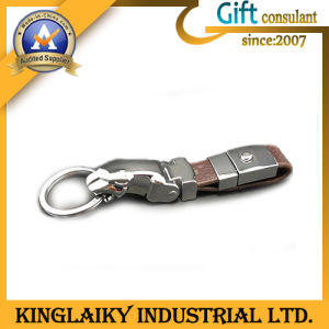 Promotion Gadget Leather Keychain for Gift (KKR-026) pictures & photos
