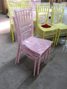 Colorful Plastic Stacking Tiffany Wedding Chivari Chairs pictures & photos