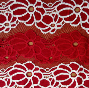 2015 Popular Design of Lace Fabric pictures & photos