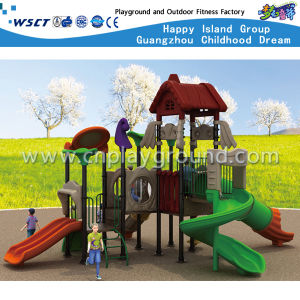 Kids Small Playground Amusement Park Outdoor Play Equipment HD-Tsh002 pictures & photos