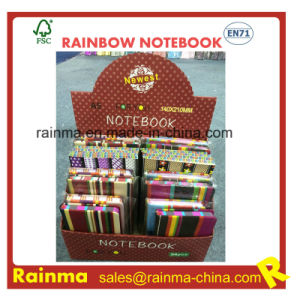 Cloth Hard Cover Notebook in Display Box Packing pictures & photos