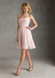 Cheap Discount Chiffon Evening Short Fashion Dresses (FD14011) pictures & photos