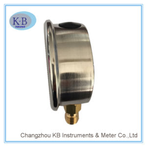 Manometer Stainless Steel Liquid Filled Pressure Gauge pictures & photos