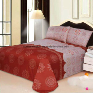 100% Polyester Microfiber Sheet Sets, Size Can Be Customized pictures & photos