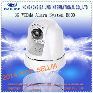 Auto Dial, Dual Talk, and SMS/MMS Alert 3G Wireless Video Alarm (BLE800)