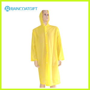 Long Sleeve Yellow Disposbale Raincoat pictures & photos