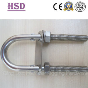 Lifting Rigging Ss304/316 DIN580 Eye Screw Bolt with Test Certificate pictures & photos