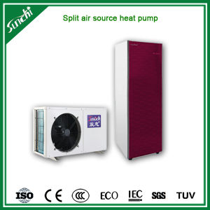 Australia, New Zealand CE Certificate Cop4.2 5kw, 7kw, 9kw, 220V, 60c Hot Water, R410A Wall Mounted Air Source Split Heat Pump pictures & photos