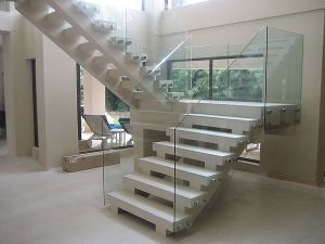 Good Design Interior Glass Stair Railing Balustrade pictures & photos