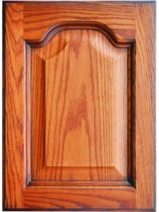 Solid Oak Wood Kitchen Cabinet Door (YJ-010A) pictures & photos