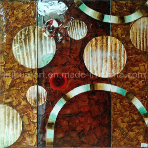 Wholesale Handmade Abstract Paintings with Circles (LH-227000) pictures & photos