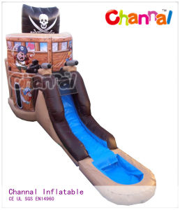 Pirate (Deluxe) Bounce Slide Combo /Inflatable Water Slides Bsl004 pictures & photos