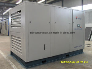 Stationary Air Double Screw Oilless Compressor pictures & photos