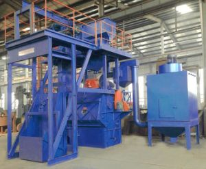 Automatic Loading Tumble Blasting Machine pictures & photos