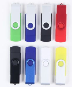 Swivel USB Flash Drive with Silk Print or Laser Print (ET583) pictures & photos