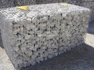 Galvanized Steel Gabion for The Wall Building pictures & photos