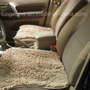 Tufted Microiber Polyester Chenille Long-Pile Rug Car Mat (50*50, 50*50, 50*135)